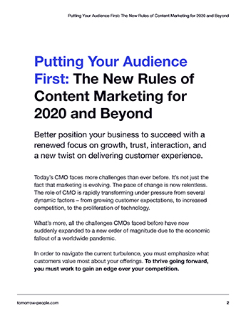 Putting Your Audience First page 2 preview