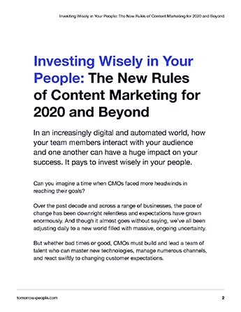 Investing Wisely in Your People - Page 2 preview